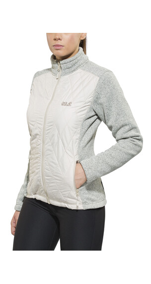 Jack Wolfskin Caribou Crossing Track Jacket Women light sand
